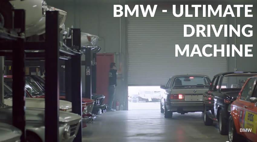 Eine lagerhalle in kalifornien voll mit alten bmw modellen for Garage bmw bayern marignane